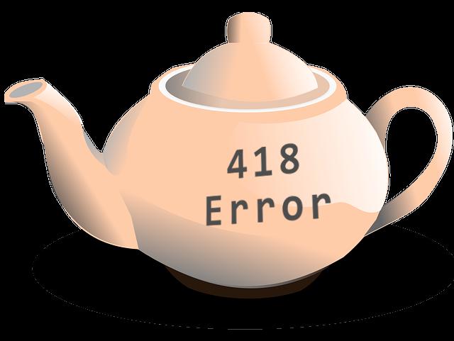 418 Error